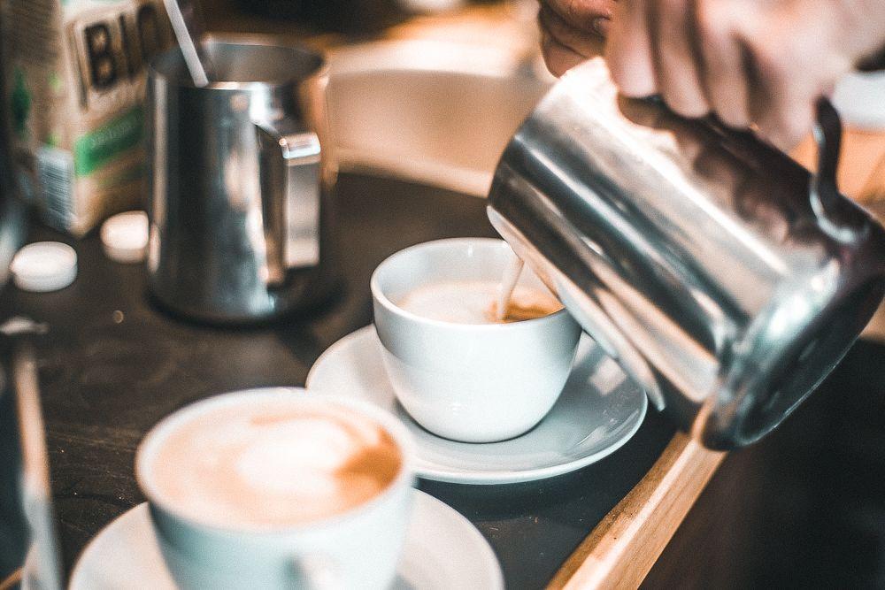 Blattgold - Blattgold Kiel Kaffee