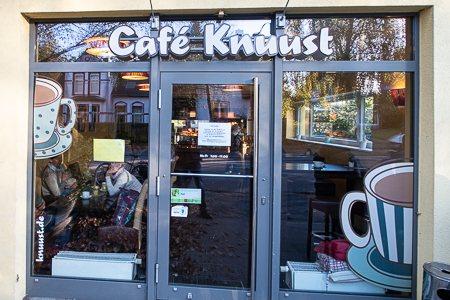 Karte Cafés - Cafe Knuust Vorschau klein