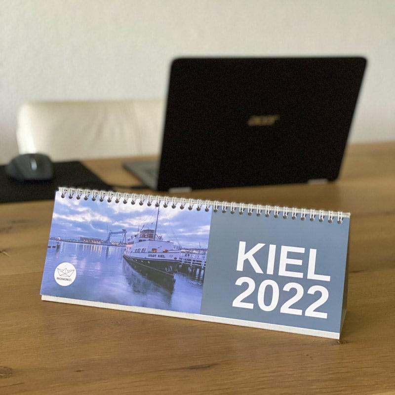 HUNDERT - Kiel Tischkalender Kalender mmk 2